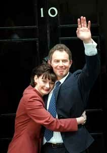 Tony Blair & Cherie, Number 10 Downing Street, 1997