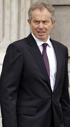 Tony Blair, September 10th 2008, St Paul's Cathedral for Commemorative Service one year after the ending of Operation Banner - a 38 years conflict in Northern Ireland. Mr Blair signed the settlement after 10 years dedicated effort to the cause of peace in that troubled part of the UK.