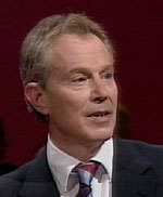 Tony Blair speaks to his party conference in his last Leader's Speech, September 2006