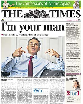 thetimes_frontpage_20oct09