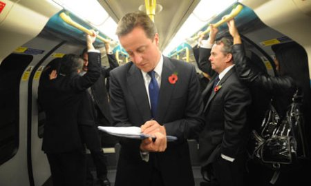 David-Cameron-travels-by-