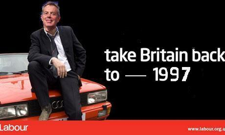 NEW!… No, REALLY NEW, New Labour poster | Tony Blair