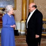 Syrian ambassador meets the Queen on an earlier occasion