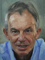 Alastair Adams Portrait of Tony Blair
