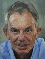 Alastair Adams Portrait of Tony Blair